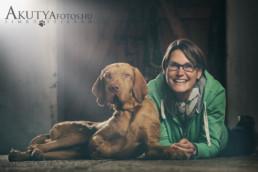 Kutya-gazdi fotók